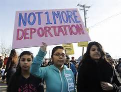 The dark turn of the immigration fight…
