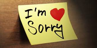 No, I Don't Accept Your Apology