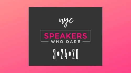 Speakers Who Dare – The Talk